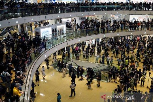 Protes antipemerintah Hongkong kembali berlanjut di tengah wabah COVID-19