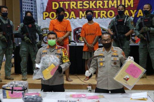 Dua pelaku perampokan dan pembunuhan ditangkap polisi di Depok