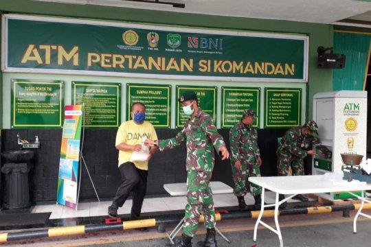 """TNI sediakan beras gratis lewat ATM Pertanian """"Sikomandan"""""""