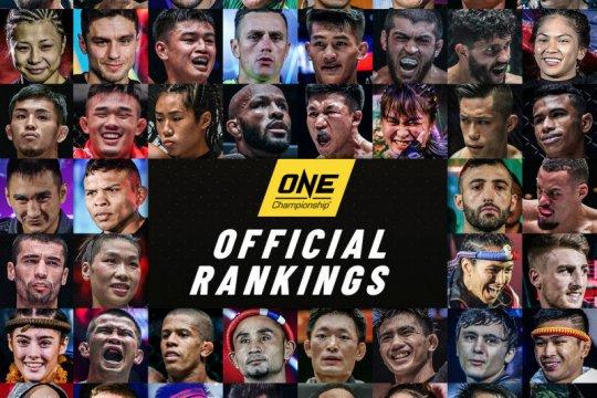 ONE Championship untuk pertama kalinya rilis peringkat petarung