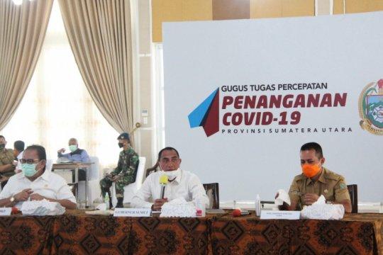 Gubernur Sumut minta awasi penggunaan dana COVID-19