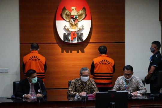KPK tetapkan Ketua DPRD Muara Enim Aries HB sebagai tersangka