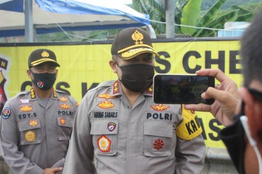 Polda Banten putarbalikkan 555 kendaraan mudik menuju Merak