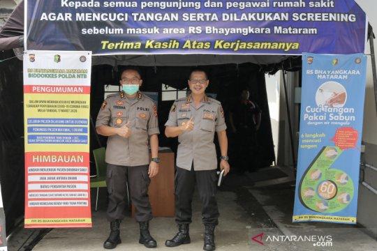 Seorang anggota Polri di NTB dinyatakan sembuh dari COVID-19