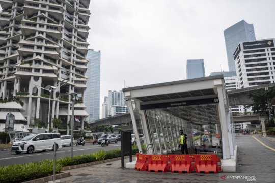 PSBB Jakarta, MRT kembali tutup layanan di dua stasiun
