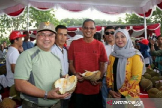 Dahlan Iskan terkesan dengan durian Bangka Belitung