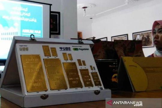 Selama Corona, harga emas Pegadaian menguat 21 persen