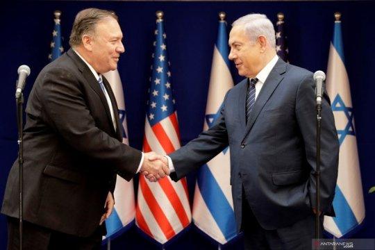 Pompeo sebut aneksasi Palestina merupakan keputusan Israel