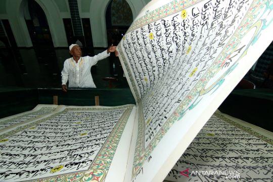 Tadarus Al Quran berukuran raksasa