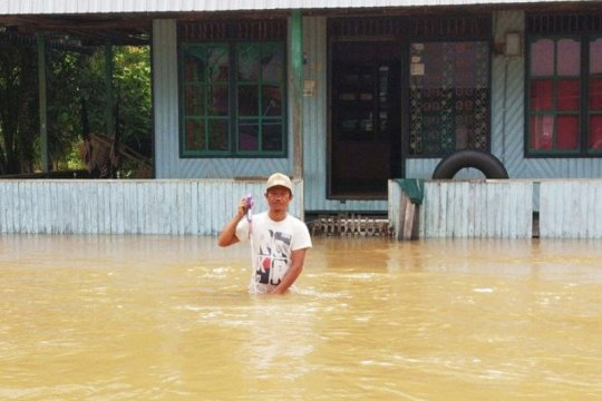 Banjir rendam kawasan utara di Kotawaringin Timur