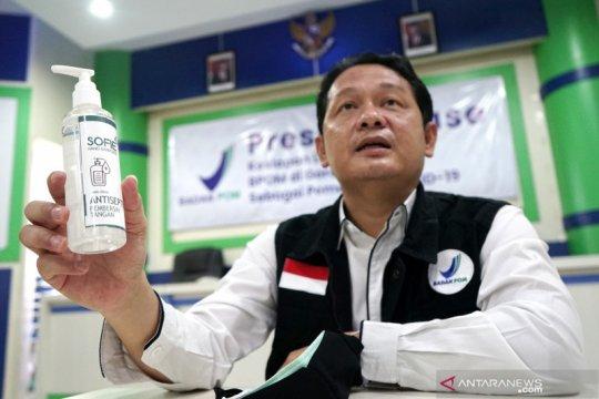 BPOM dan UMKM produksi hand sanitizer dari nira aren