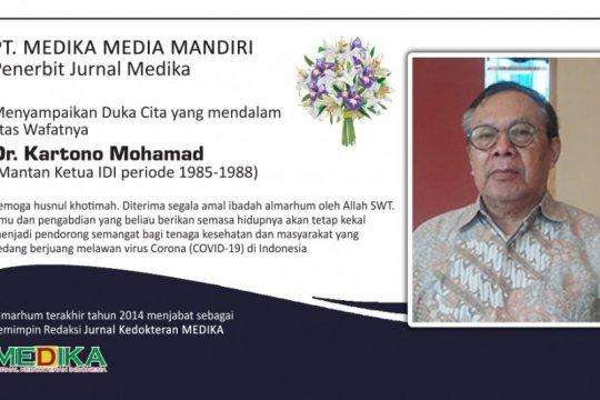Mantan Ketum IDI Kartono Mohamad tutup usia