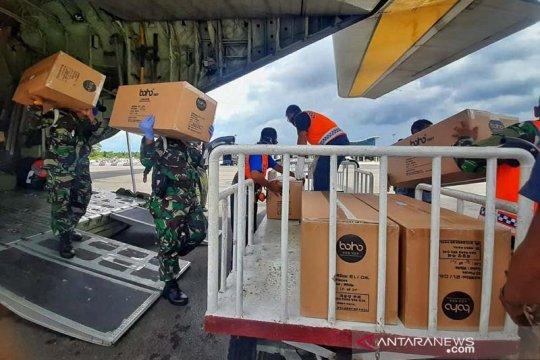 TNI AU kembali distribusikan 5.000 APD untuk Kepri