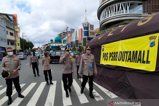 Kapolda Kalsel instruksikan petugas tegakkan aturan PSBB