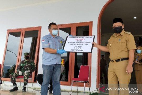 PT COR Indonesia salurkan sembako dan alkes untuk cegah COVID-19