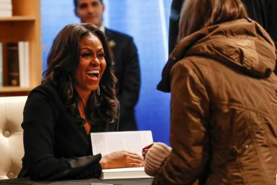 Dokumenter Michelle Obama tayang di Netflix bulan depan