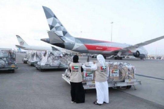 UEA kirim bantuan APD 20 ton, Indonesia kirim balik buah dan sayur