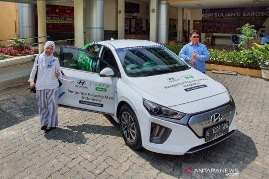 Hyundai IONIQ jadi armada tenaga medis tiga RS rujukan COVID-19