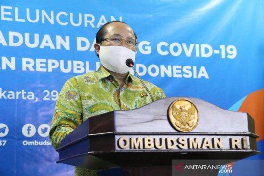 Ombudsman buka posko aduan pelayanan COVID-19 tak berjalan