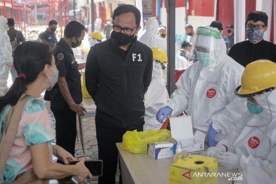 """197 peserta """"rapid test"""" di Pasar Bogor seluruhnya negatif"""