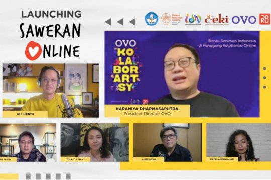 """Peduli seniman dengan """"Saweran Online"""" di Hari Tari sedunia"""