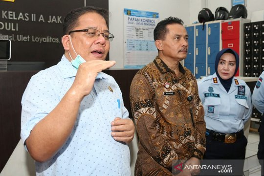Ombudsman RI dorong lapas inovasi pengawasan warga binaan asimilasi