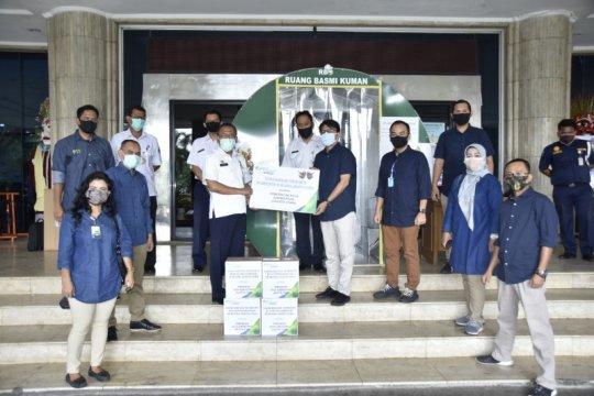 BPJAMSOSTEK kembali bagikan 8.000 masker untuk tekan pandemi COVID-19