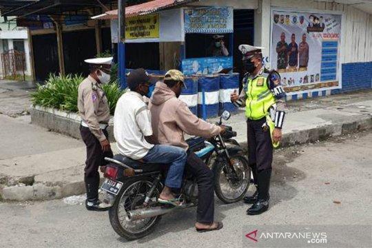 Polres Jayawijaya dirikan pos awasi pemudik melewati jalan setapak
