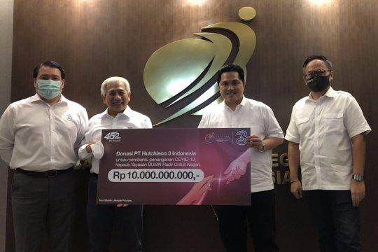 3 donasikan Rp10 miliar via Yayasan BUMN untuk tangani COVID-19