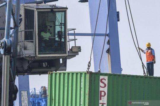 BPS ingatkan waspadai penurunan impor bahan baku dan barang modal