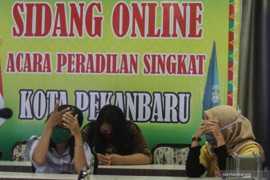 Untuk mudik saat PSBB di Pekanbaru, warga manfaatkan travel gelap