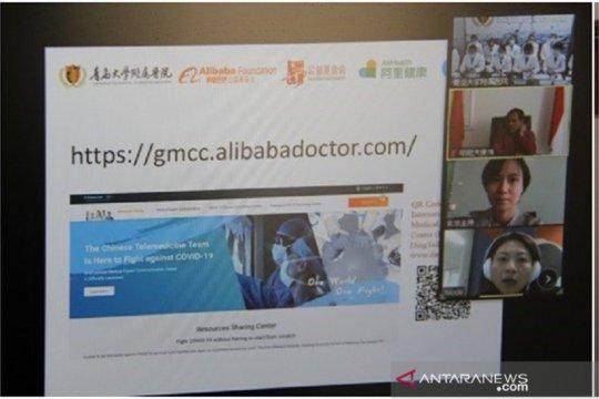 Dokter China dan Indonesia berbagi pengalaman penanganan COVID-19