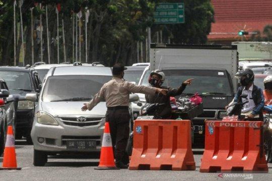 16 pelanggar PSBB Pekanbaru divonis bersalah, denda hingga Rp3 juta