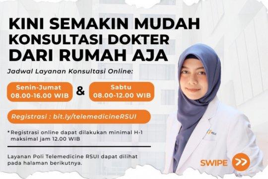 RSUI berikan layanan dokter secara daring