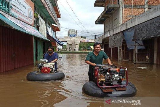 Banjir di Barito Utara meluas dengan ketinggian air capai 2 meter