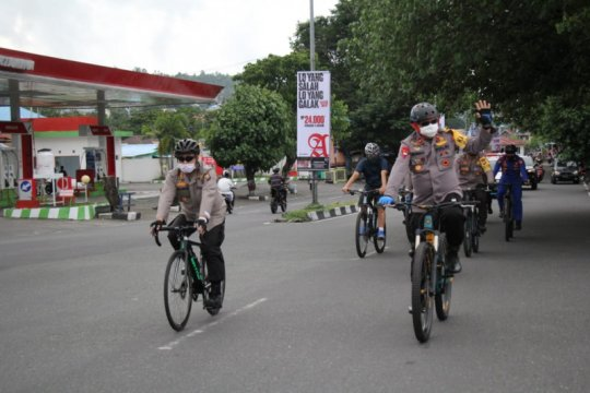 Kapolda Malut pimpin patroli cek kesiapan Pos Operasi Ketupat 2020