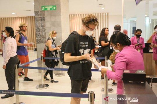 Bandara Bali telah layani penerbangan pemulangan 3.408 WNA
