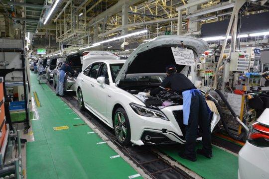 Toyota hanya jual 2,3 juta kendaraan Januari-Maret 2020