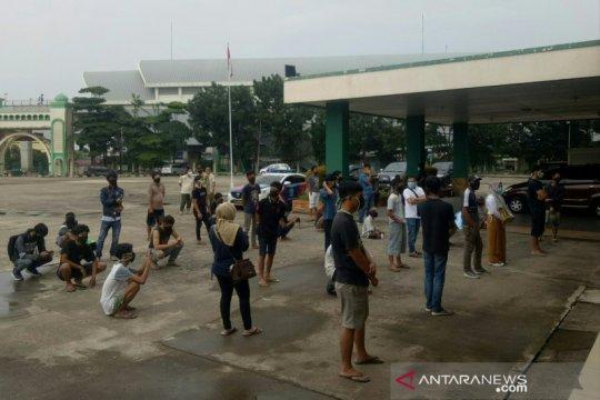 Razia masker tahap pertama di Palembang Sumsel berlangsung lima hari