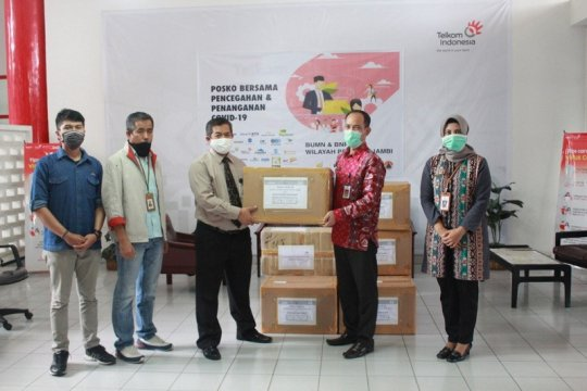 Satgas  BUMN Jambi serahkan bantuan APD ke RSUD Raden Mattaher