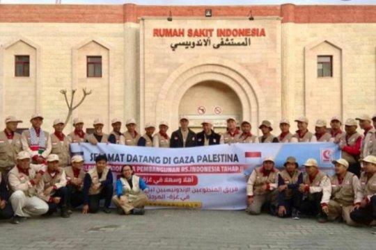 Di tengah COVID-19, Dubes RI sapa WNI aktivis kemanusiaan di Gaza
