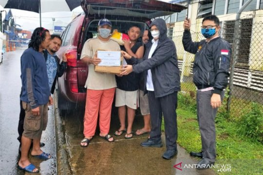 KBRI Suva serahkan bantuan ke pelaut Indonesia terdampak COVID-19