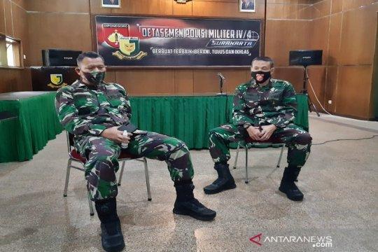 Denpom tangkap dua oknum tentara terlibat penyalahgunaan narkotika