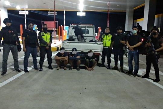 Timsus Maleo amankan tiga pelaku balap liar di Tol Manado-Bitung