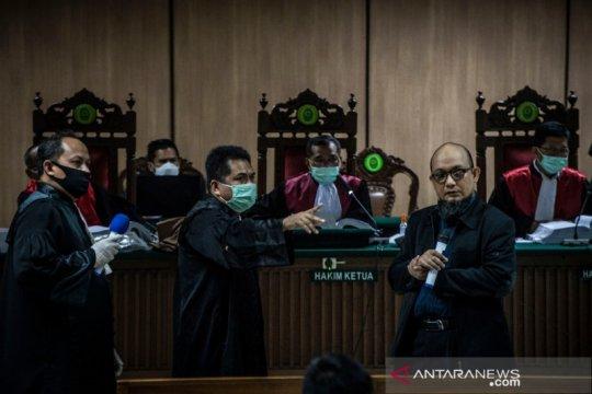4 orang akan bersaksi untuk kasus penyiraman Novel