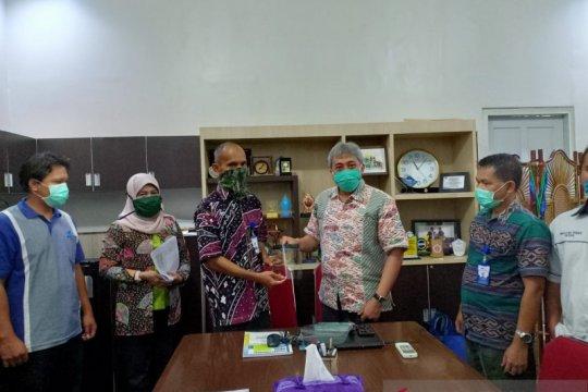 Perusda Kalbar hadirkan pelindung wajah bayi agar terhindar COVID-19