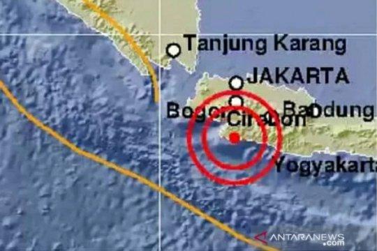 Gempa magnitudo 4,4 terjadi di Kabupaten Sukabumi