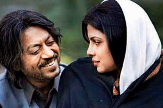 Irrfan Khan dalam kenangan Shah Rukh Khan dan Priyanka Chopra