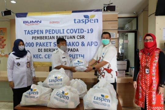 Peduli COVID-19, Taspen salurkan bantuan kepada 500 KK di Jakarta