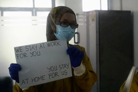 4 hari beroperasi, lab uji swab Riau terima 350 sampel